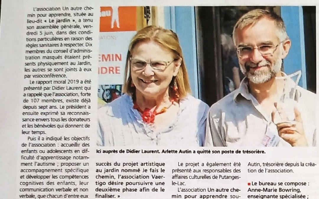 Journal de l'Orne 11 juin 2020
